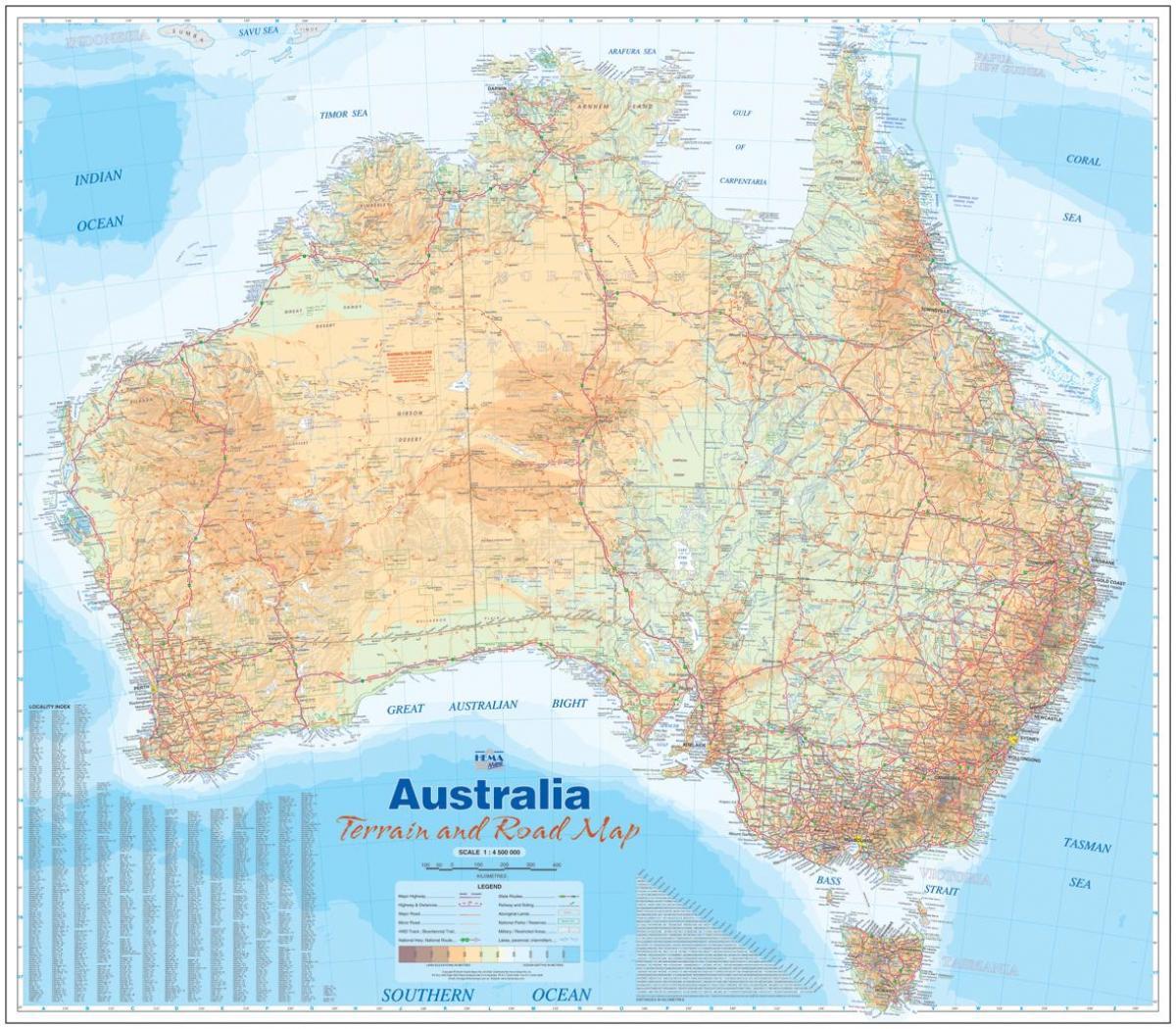 ausztrália domborzati térkép Ausztrália domborzati térkép   domborzati térkép Ausztrália  ausztrália domborzati térkép